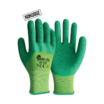 BAY-EL Pütürlü Eldiven Yeşil-Yeşil