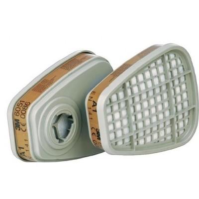 3M 6059  A2 organik gaz buhar filtresi (1 çift)