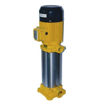 VORTEX DVX 10-12 T 7,5HP -380V- AISI 304 Paslanmaz Fanlı Dik Milli Çok Kademeli Pompa