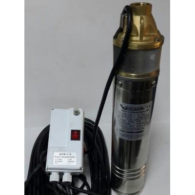 Vortex VTM 08 M -    0.8HP  bronz kızıl fanlı  Keson Kuyu Dalgıç Pompa